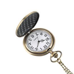 Orologio da taschino al quarzo di moda per uomo, orologio da polso turco con orologio da polso per uomo, orologio da taschino in bronzo modello Eagle per ragazzi da