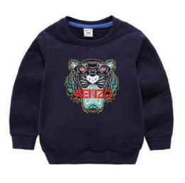 Kinder Pullover Frühling und Herbst langärmelige Kinder Pullover Winter langärmelige trägt einen Rundhalspullover Baby 1 Jahr von Fabrikanten