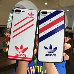 teléfonos delgados baratos Rebajas Diseñador de moda de moda caso del teléfono para IPhoneX 6 6S 6plus 78 más caso delgado delgado con la marca de moda caso de Iphone TPU