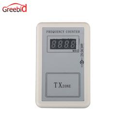 contatore digitale remoto Sconti Contatore di frequenza digitale mini trasmettitore di frequenza (250MHZ-450MHZ) di buona qualità