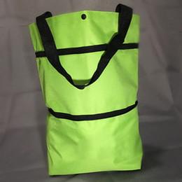 2019 подарочные сумки оптом Portable Foldable Lightweight Reusable Home Shopping Bag Grocery Wheel Multi-functional Shopper Trolley