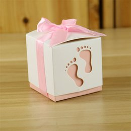 2020 i compleanni di giugno Forma impronta Bomboniere Kraft Paper Bag Popcorn Box Goodie Bags Gift Bag Kids Party Favors Candy compleanno Decor 9 giugno i compleanni di giugno economici