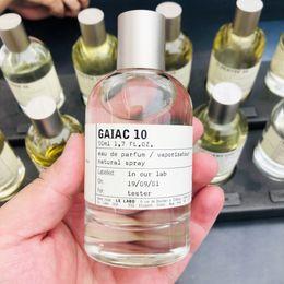 tubos acrílicos transparentes Desconto Le Labo perfume Neutro 100ml Santal 33 Bergamote 22 Rose 31 A Noir 29 Longo Marca Perfumes duradoura navio livre fragrância