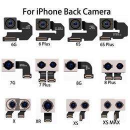 Lente flex on-line-Para o novo iphone 6 s plus 7 8 além disso X XS max XR originais Peças de Reparo Traseira Da Câmera Traseira Lente Flex Cable Módulo