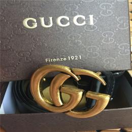 TOP mens ceinture concepteur ceintures nouvelle marque concepteur ceintures mens haute qualité g boucle ceintures pour hommes femmes ceinture en cuir véritable cadeau hot sellerlll ? partir de fabricateur