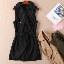 Canada Nouveaux vêtements printaniers pour femmes magnifiques, de haute qualité et d'une qualité exceptionnelle, avec une veste sans manches, à col droit, style gilet, style gilet cheap sleeveless jackets low Offre