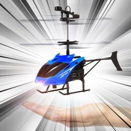 Helicóptero de control remoto de aleación online-Juguete para bebés Original 3CH Línea de control remoto Helicóptero eléctrico Aleación Copter con giroscopio Los mejores juguetes de regalo para niños Novedad Juguete