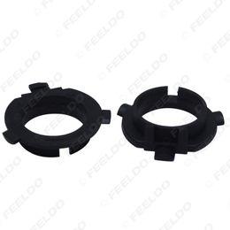 faro de hyundai Rebajas 2PCS Car LED Headlight Bulbs Holder H7 Socket Adaptador Base para KIA K3 / K4 / K5 / Sorento Hyundai Veloster / Snata Fe # 5533