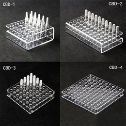 Acrylique présentoir cadre pour huile de cigarette électronique 92A3 CE3 CELL cartouche nébuliseur ecigs rack support de cigarette électronique support étagère ? partir de fabricateur