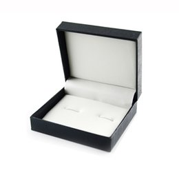 amaze box Promo Codes - DIY Hot!Luxury Fashion Black Jewelry Cufflinks Box Gift Boxes Organizer Case Cuff Link Display Carrying Amazing Jewelry Cases615