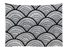 Argentina HOT 130 * 150cm diseños de gran tamaño Tamaño de gobelino colgantes hogar de la pared decoración de la impresión Toalla de playa del mantón de Bohemia Mandala Mantel colchonetas de yoga Suministro