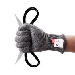 Anti-Cut-Handschuhe CE Norm Stufe 5 Cut beständige Schutzhandschuhe HPPE-Material Schutzhandschuh für Männer Frauen Kinder von Fabrikanten