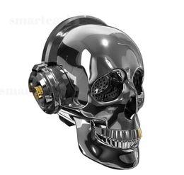 Argentina Cabeza del cráneo bluetooth altavoz luz subwoofer inalámbrico audio AUX TF tarjeta reproductor de música estéreo MP3 teléfono móvil altavoces de la computadora Suministro