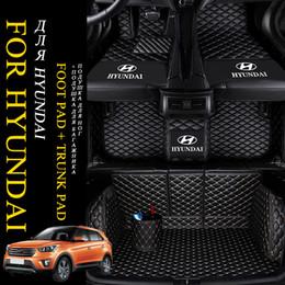 Tapis de sol sur mesure pour voiture de luxe ZHIHUI 5D Surround pour Hyundai Elantra 2008 2017 Tucson 2007 2019 Veloster Getz Santa Fe Solaris ? partir de fabricateur