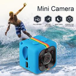 Visión nocturna más pequeña online-SQ11 Mini cámara HD 1080P Sensor Visión nocturna Camcorder Motion DVR Micro cámara Deporte DV Video pequeña cámara cam SQ 11