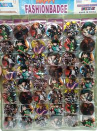 Canada Nouveau 48pcs / set anime japonais Mon héros Academia Pin Badges, Badge de broche ronde Enfants Vêtements Accessoires 4.5 cm A - 28 Offre