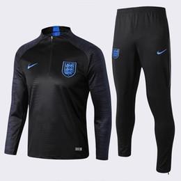2020 Englands KANE adulto de futebol agasalho 19 20 Alvaro Morata Rashford DELE Vardy Lingard HENDERSON adulto manga comprida fato de treino de futebol de Fornecedores de camisas de manga longa de couro