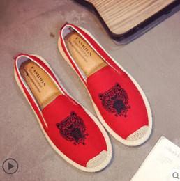 sapatos qiu Desconto Homens e mulheres verão Beijing pano pano sapato han edição maré joker recreativo placa sapato sola macia qiu dong sapato pescador