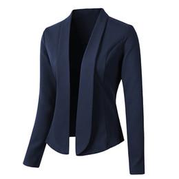 chaquetas de un solo botón para mujer Rebajas Venta al por mayor Mujeres Blazers y Chaqueta Venta caliente Otoño Mujer Chaqueta de traje Formal Blazer Blazer Trabajo Oficina Señora Traje de negocios