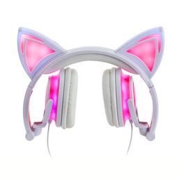 Oreillettes en Ligne-chat oreille oreillette écouteurs intra-auriculaires renard oreille écouteur écouteur cosplay ps4 oreillette bourgeon musique manchons casquette sur oreille