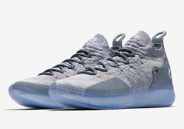 59db591bcd0 Discount top 10 shoes brands - 2019 Top Quality New Mens KD 11 XI Oreo  Paranoid