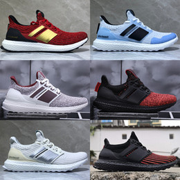 Pas cher Game of Thrones Ultra Boost Dragons Targaryen Lannister Stark White Walkers Hommes Femmes Ultraboost UB 4.0 PK Casual Chaussures Sneakers ? partir de fabricateur