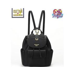 New Korean Style Feminine Luna Cat Ear Graffiti Backpack Japanese Sailor Moon School Bags For Teenagers College Leisure Bags Low Price Backpacks