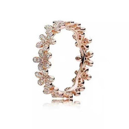 Cristales de Swarovski. Producto nuevo. Anillo de oro rosa de plata de ley 925 con anillo de destino. Amantes del campus. Selección de viento para dama elegante. desde fabricantes