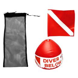 Dalış Yüzme Fin Ayakkabı Palet Aksesuarları Örgü Çanta + Kırmızı Beyaz Şişme Şamandıra Şamandıra Dalış Çanta ile Scuba Bayrak nereden