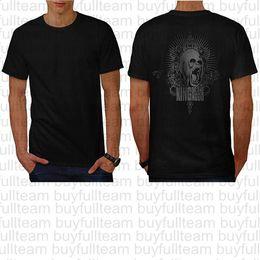 camiseta de manga corta capucha Rebajas Rey de la camisa de la capilla real del gorila mono Homme T Volver para hombre Negro de manga corta manera de las tapas de cuello redondo T Shirts Tamaño S M L XL 2XL 3XL