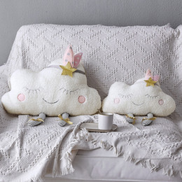 2019 almohadas de cuello de animales al por mayor Almohada para bebé Cojín para dormir para niños Juguete de felpa Decoración de la habitación para bebés Juguetes de peluche Accesorios de fotografía Regalo de cumpleaños para niñas