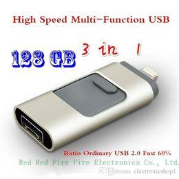 u1 оптовые Скидка I-FlashDrive USB-флешка HD Pendrive Lightning Data для телефона Pad USB-интерфейс Pen Drive для ПК