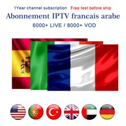 Iptv arabic hd on-line-Assinatura IPTV 6000+ Live 8000+ Abonnement IPTV Itália Portugal Espanha Árabe França IPTV EUA Canadá Canadá Reino Unido para MAG322 Android Box Smart TV
