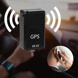 GF-07Anti-Kayıp Alarm Mini Gerçek Zamanlı GSM / GPRS Tracker KID / Araba / Köpek Sistemi Tracker Cihazı Manyetik Bulucu Konumlandırma Telemonitoring Dinle nereden