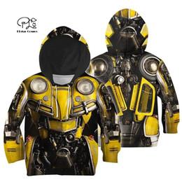 Familie passende Outfits Rüstung Anzug Kinder 3D Print Hoodies Mutter und Tochter Kinder Jungen Sweatshirts / Weste / Jacke / T-Shirts von Fabrikanten