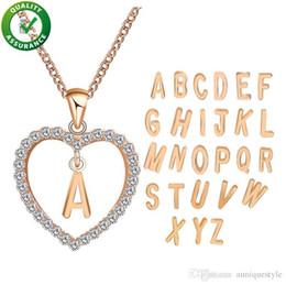 Deutschland Luxus Designer Schmuck Gold Halskette für Frauen Hip Hop Bling Ketten Iced Out Herz Anhänger Diamant Blase Brief Halsketten Mädchen Hochzeit Versorgung