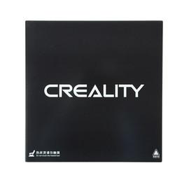 Piattaforma stampante 3D aggiornata Base riscaldata Superficie in vetro temperato per Creality Ender 3 / Ender 3 Pro stampante 3D 235x235x4mm da