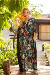 5 Design Real Fotos 2019 das mulheres designer de vestido Com Decote Em V manga morcego impressão floral vestido solto tamanho livre atacado supplier photo woman dress design de Fornecedores de design de vestido de mulher foto
