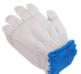 guantes de algodón guantes de la mano de obra de fábrica gruesas productos de protección de manos resistentes al desgaste de mano de obra guantes de hilo desde fabricantes