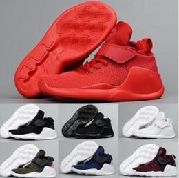 2019 Neue KWAZI Action dreifach Zurück Weiß Rot Männer Laufschuhe Damen Blau Grün Stiefel Sneakers Trainer Sportlich Sport hohe Chaussures von Fabrikanten