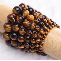 pietre magiche nere Sconti 4mm 6mm 8mm 10mm 12mm Occhi di Tigre Perline Bracciale Uomo Minimalista Yoga Meditazione Gioielli Buddha Bracciale Per Uomo Handmade Bracciale Heren