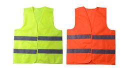 Светоотражающий жилет 2019 Светоотражающий желтый Высокоинтенсивный светоотражающий светоотражающий материал Безопасность движения Одежда 2 9год C R от