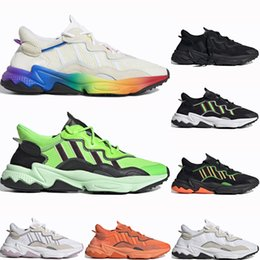 Adidas Ozweego adiPRENE shoes Classique Pas Cher Fierté 3 M Réfléchissant Xeno Ozweego Hommes Femmes Casual Chaussures Neon Green Bold Orange Tons