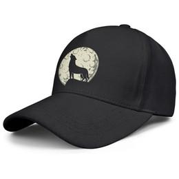 Волк в лунном свете черные мужские и женские кепки водителя грузовика прохладно подогнанные по индивидуальному заказу модные бейсболки милые уникальные классические шляпы от