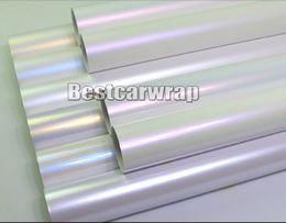 Diverses couleurs Pearl white gloss vinyl Wrap Covering Pour voiture wrap Low tack colle 3M qualité avec bulle d'air gratuit 1.52x20mRoll ? partir de fabricateur