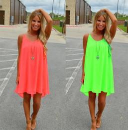 détail en gros plus la taille 4XL 5XL robe mini courte en mousseline de soie robe sexy chaud creux sur maille bonbons couleur femme robe d'été ? partir de fabricateur