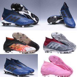 0bb33029838f Top quality Soccer Cleats Predator Telstar 18+ FG size 39-45 Mercurial  Superfly V CR7 football Boots DB Soccer Shoes High Ankle