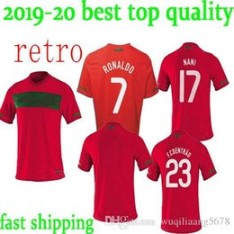 29d0b2f7e newest 10 11 Portugal home retro soccer jersey 2010 2011 Portugal South  Africa World Cup jersey RONALDO NANI S-XXL retro football shirts discount  portugal ...