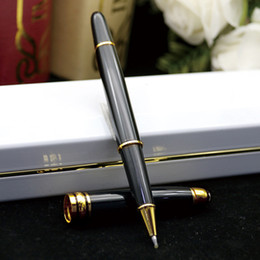 Neue 6 Stücke Kawaii Schwarz 0,38mm Gel Ink Stifte Roller Nadel Stift Feine ZJHN