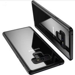 Прочный чехол для сотового телефона онлайн-Чехол для мобильного телефона Samsung Galaxy Note 9 Чехол Note9 Чехлы Ультра тонкие задние крышки Мягкий TPU Прочный бампер X70